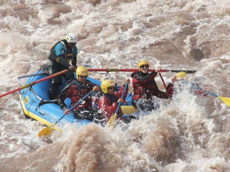 Rafting in Argentina